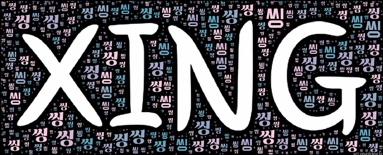 [워드 클라우드]: 씽 (XING)-16